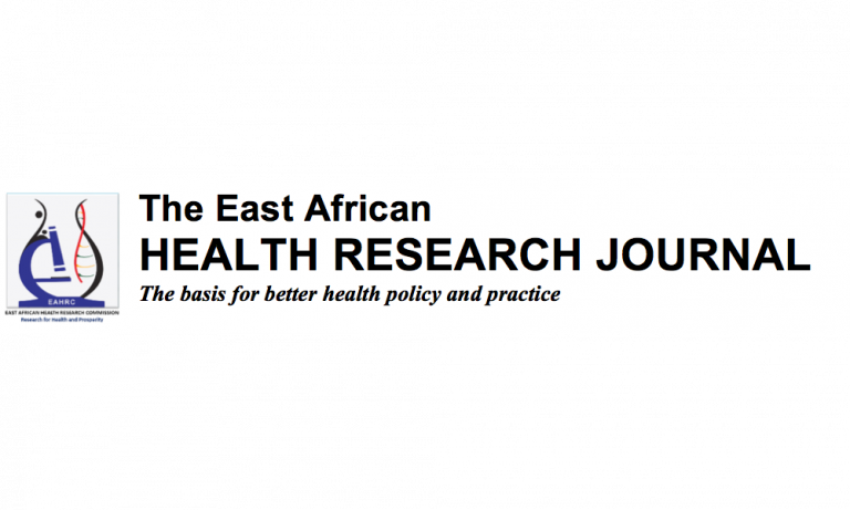Logo of the east african health research journal