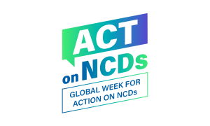 Green Logo for Global Week for ACtion on NCDs