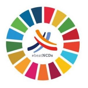 Small logo for Youth Recommendations for UN HLM on NCDs