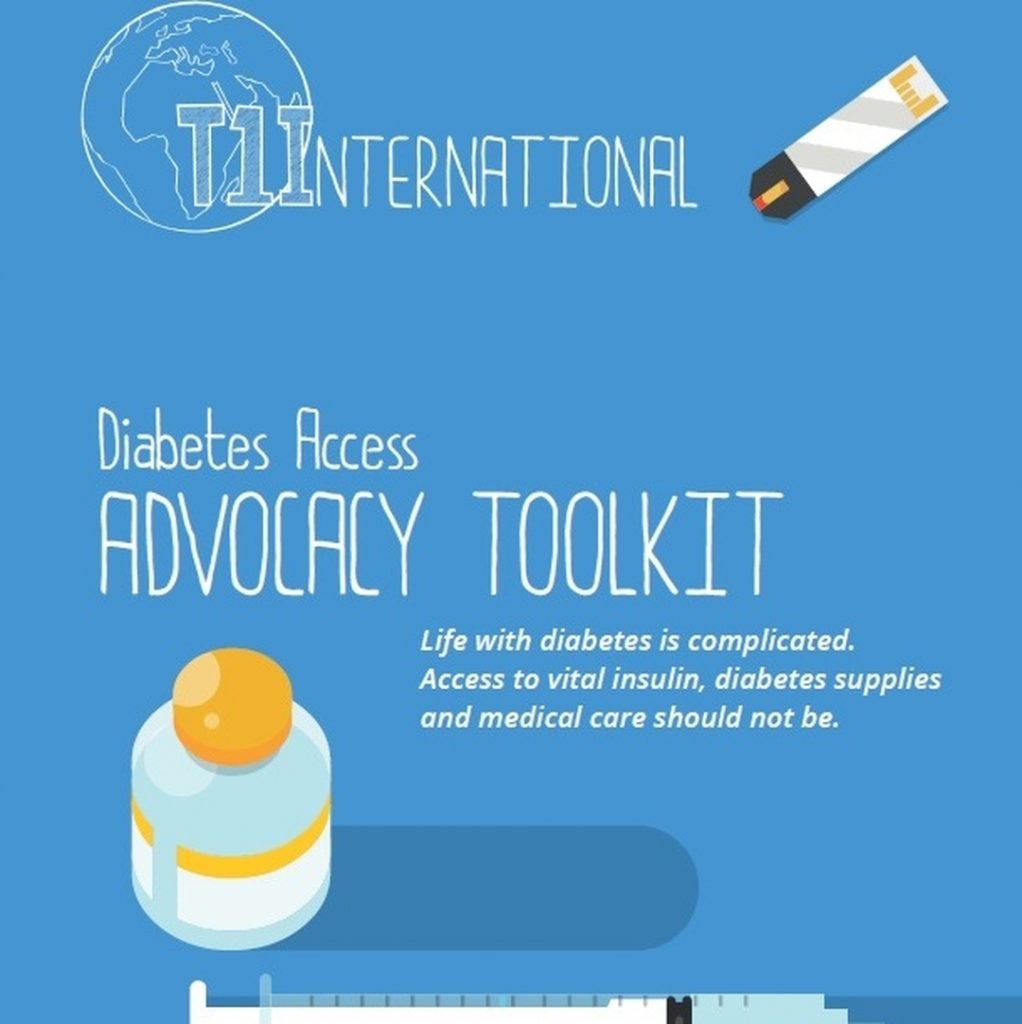 T1 International: Diabetes Access Advocacy Toolkit Infographic