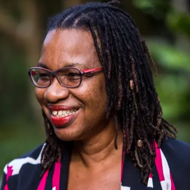 NCD Child Governing Council Member Alafia Samuels from Barbados