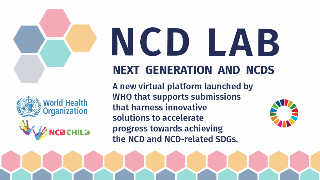 NCD Lab Next generation and NCDs infographic postera